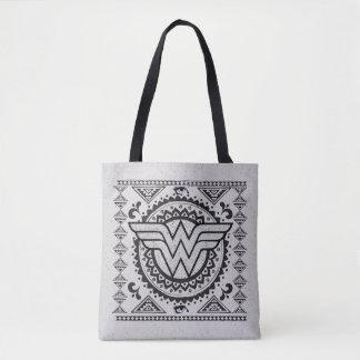 Wonder Woman Spiritual Tribal Design Tote Bag