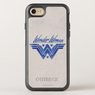 Wonder Woman Stacked Stars Symbol OtterBox Symmetry iPhone 8/7 Case