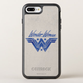 Wonder Woman Stacked Stars Symbol OtterBox Symmetry iPhone 8 Plus/7 Plus Case