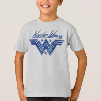 Wonder Woman Stacked Stars Symbol T-Shirt