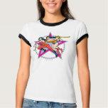 Wonder Woman Star Background T Shirts