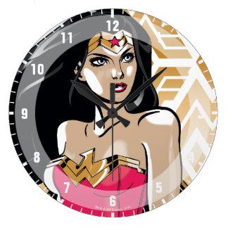 Wonder Woman Strength Large Clock