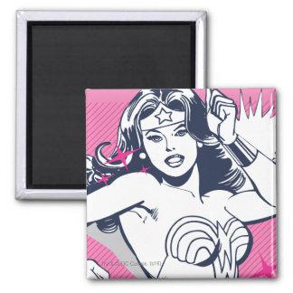Wonder Woman Strength & Power Square Magnet