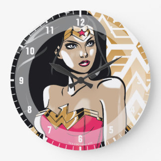 Wonder Woman Strength Wallclock