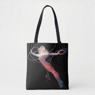 Wonder Woman Sunset Sky Silhouette Tote Bag
