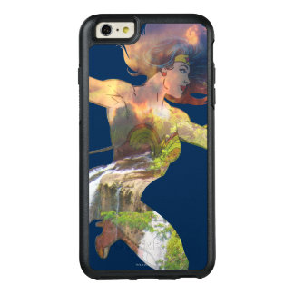 Wonder Woman Sunset Waterfall Silhouette OtterBox iPhone 6/6s Plus Case