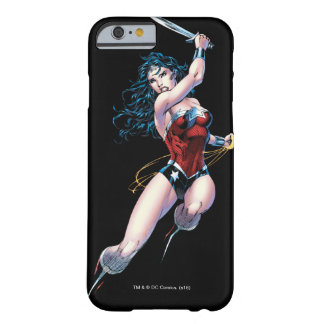 Wonder Woman Swinging Sword Barely There iPhone 6 Case