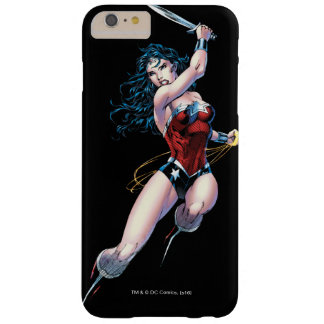 Wonder Woman Swinging Sword Barely There iPhone 6 Plus Case