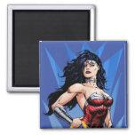 Wonder Woman & Sword Refrigerator Magnets