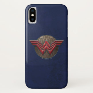 Wonder Woman Symbol Over Concentric Circles Case-Mate iPhone Case