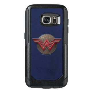 Wonder Woman Symbol Over Concentric Circles OtterBox Samsung Galaxy S7 Case