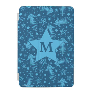 Wonder Woman Symbol Pattern | Monogram iPad Mini Cover