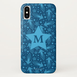 Wonder Woman Symbol Pattern   Monogram iPhone X Case