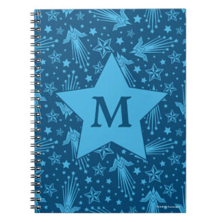 Wonder Woman Symbol Pattern | Monogram Notebooks