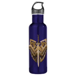 Wonder Woman Symbol With Sword of Justice 710 Ml Water Bottle
