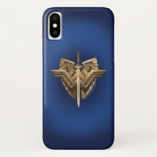 Wonder Woman Symbol With Sword of Justice Case-Mate iPhone Case