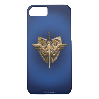 Wonder Woman Symbol With Sword of Justice iPhone 8/7 Case