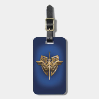 Wonder Woman Symbol With Sword of Justice Luggage Tag