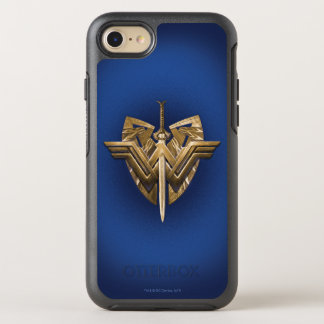 Wonder Woman Symbol With Sword of Justice OtterBox Symmetry iPhone 8/7 Case