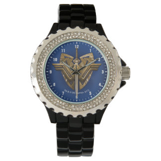 Wonder Woman Symbol With Sword of Justice Watch