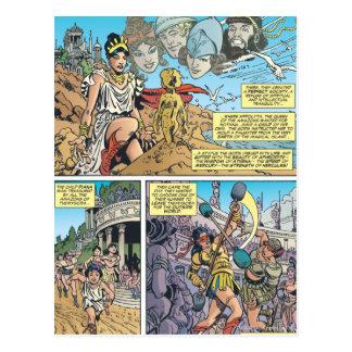 Wonder Woman Themyscira Postcard
