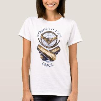 Wonder Woman Tiara, Lasso, and Bracelets T-Shirt