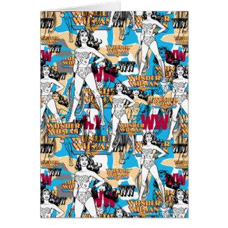 Wonder Woman Toss Pattern Card