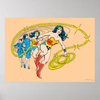 Wonder Woman Transform Poster