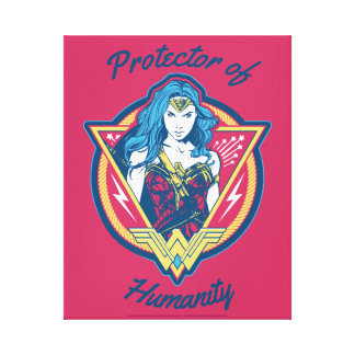 Wonder Woman Tri-Color Graphic Canvas Print