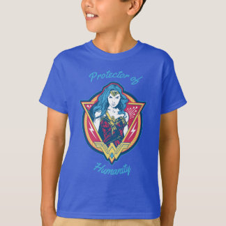 Wonder Woman Tri-Color Graphic T-Shirt