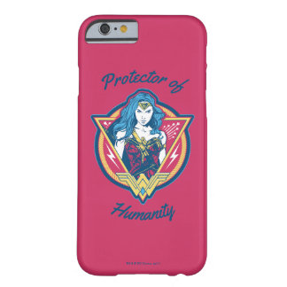 Wonder Woman Tri-Color Graphic Template Barely There iPhone 6 Case