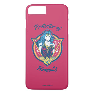 Wonder Woman Tri-Color Graphic Template Case-Mate iPhone Case