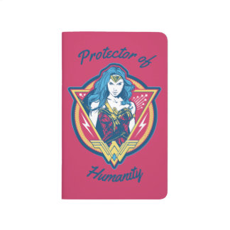Wonder Woman Tri-Color Graphic Template Journal
