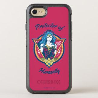 Wonder Woman Tri-Color Graphic Template OtterBox Symmetry iPhone 8/7 Case