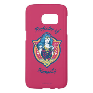 Wonder Woman Tri-Color Graphic Template Samsung Galaxy S7 Case