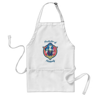 Wonder Woman Tri-Color Graphic Template Standard Apron