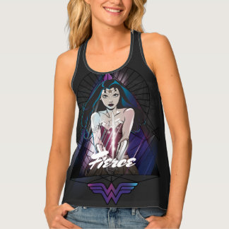 Wonder Woman Tribal Triangle Tank Top