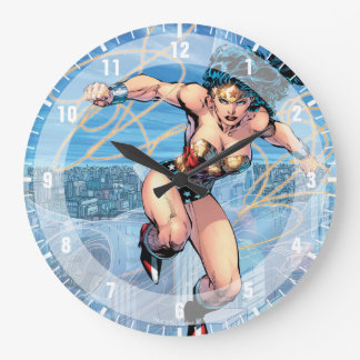 Wonder Woman Trinity Comic Cover #16 Large Clock