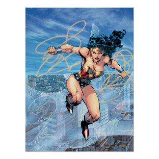 Wonder Woman Trinity Comic Cover #16 Poster