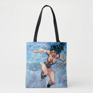 Wonder Woman Trinity Comic Cover #16 Tote Bag