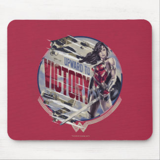 Wonder Woman Upward To Victory Mouse Pad