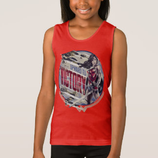 Wonder Woman Upward To Victory Tank Top
