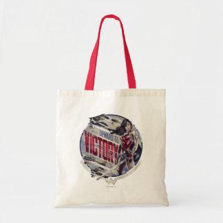 Wonder Woman Upward To Victory Tote Bag