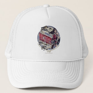 Wonder Woman Upward To Victory Trucker Hat