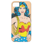 Wonder Woman | Vintage Pose with Lasso iPhone 5 Case
