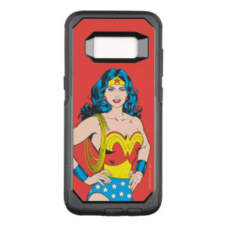 Wonder Woman | Vintage Pose with Lasso OtterBox Commuter Samsung Galaxy S8 Case