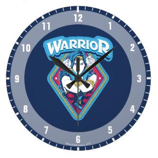 Wonder Woman Warrior Graphic Clocks