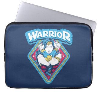 Wonder Woman Warrior Graphic Laptop Sleeve