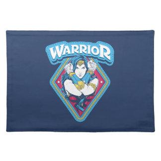Wonder Woman Warrior Graphic Placemat