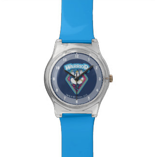 Wonder Woman Warrior Graphic Watch